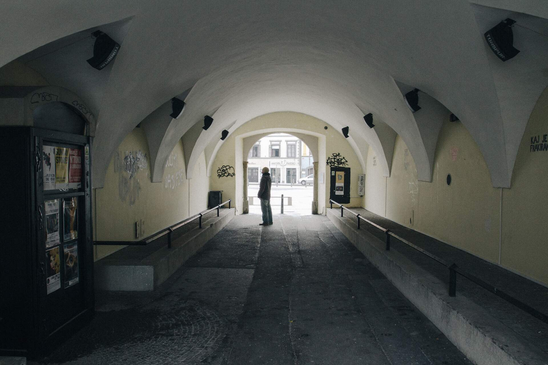 TONSPUR revives the passage under Maribor's City Hall with sound